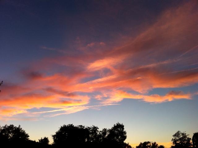 Evening September Sky