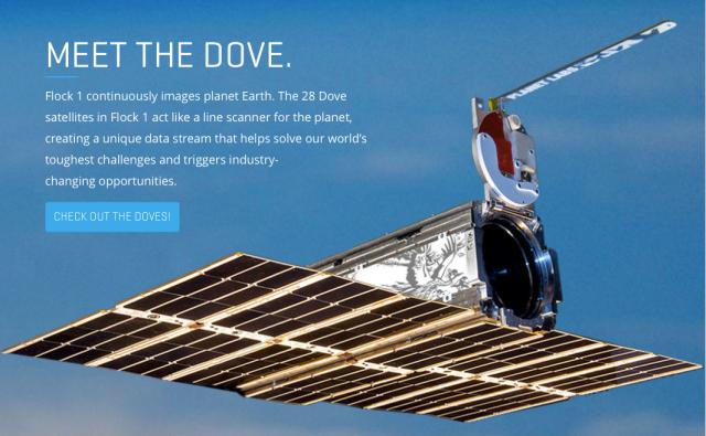 Planet Labs Dove