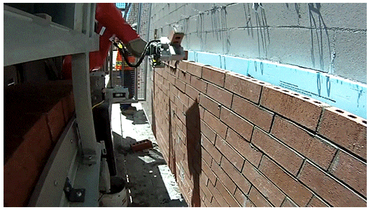 robot bricklayer