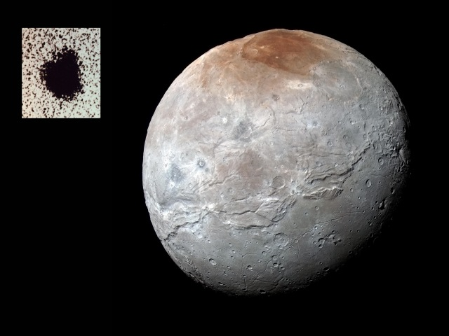 Charon, the moon of Pluto